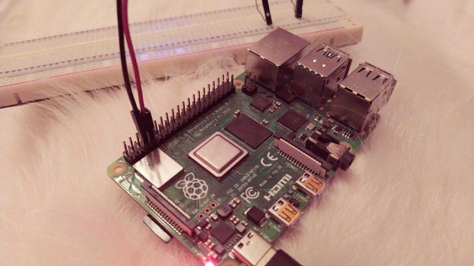 Port série de la raspberry pi